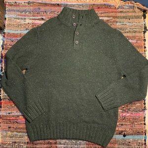 Men's Nautica Army Green Sweatshirt XL